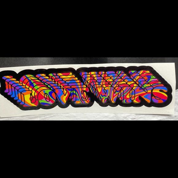 Love Wins Multi Color Vinyl Car Decal Sticker
